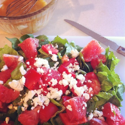 Ruby Red Grapefruit Vinaigrette