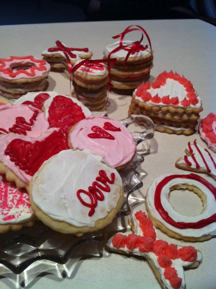 Valentine Sugar Cookies 3